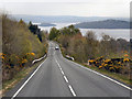 NS3486 : View towards Loch Lomond from The Haul Road by David Dixon