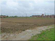 TF0744 : Muddy farmland towards The Maltings by JThomas