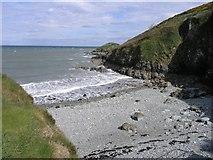 X3189 : Helvick Cove by Hywel Williams