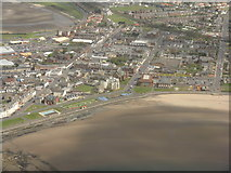 NS3230 : Troon town centre and beach by M J Richardson