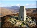 NR9037 : Beinn Lochain trig point by Brian Robertson