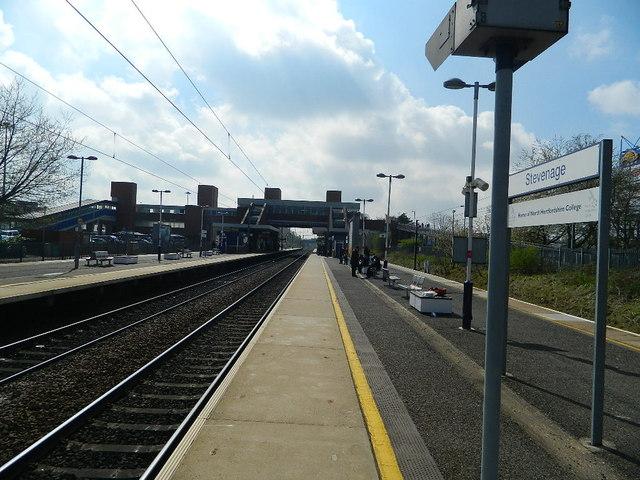 Stevenage Rail Station