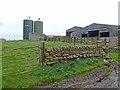NY9268 : Silos and barns, Fallowfield Farm by Oliver Dixon