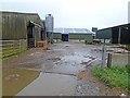 NY9268 : Yard and barns, Fallowfield Farm by Oliver Dixon