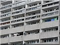 NT2676 : Flats, Cables Wynd by Richard Webb