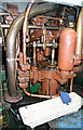 SO8218 : Gloucester Waterways Museum - dredger engine by Chris Allen