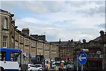 SK0573 : Looking down Terrace Road, Buxton by Neil Theasby