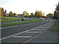 SP1563 : A3400 Stratford Road through Wootton Wawen by Robin Stott