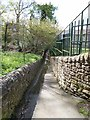 NY9363 : Passageway from Gaprigg Lane to Priestlands Lane by Oliver Dixon