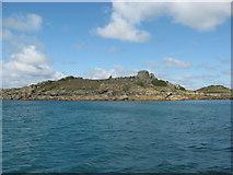 SV8916 : Northwethel-an uninhabited island near Old Grimsby-Tresco by Dr Duncan Pepper