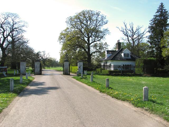Gatehouse by the entrance to Ickworth Park, Horringer