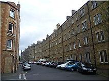 NT2774 : Milton Street tenements by kim traynor