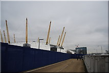TQ3880 : Diversion by the O2 arena by N Chadwick