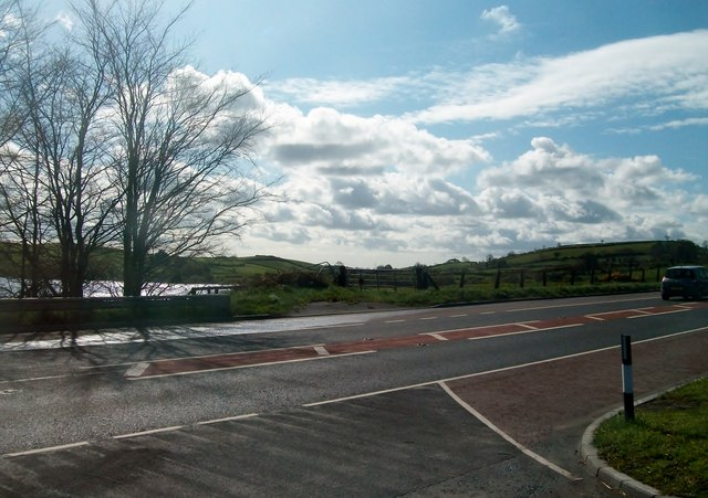 The A24 (Belfast/Ballynahinch Road) from the entrance into Old Belfast Road