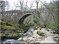 NY5655 : Hynam Bridge and the River Gelt by Les Hull