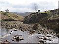NY5751 : Remains of bridge, New Water by Les Hull
