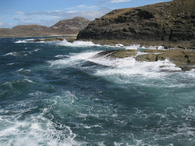 Rough sea at Ardnamurchan Point