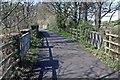 SH5868 : Trackbed near Glasinfryn by Kevin Williams