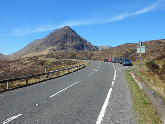 The A82 at Altnafeadh