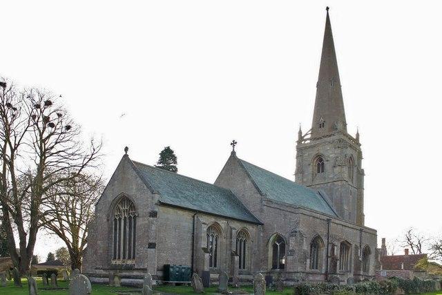 St Denis church, Silk Willoughby