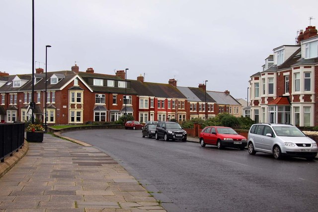 Windsor Crescent in Cullercoats