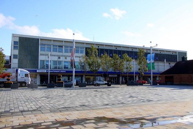 The Westgate Department Store in Waterloo Road