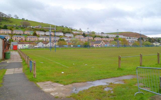 Welfare Ground playing field, Senghenydd
