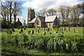 SX4299 : Halwill Church in the May sunshine by roger geach