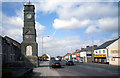NZ3646 : Memorial Clock Tower, Easington Lane by Des Blenkinsopp