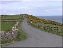 X3088 : Country coastal road by Hywel Williams