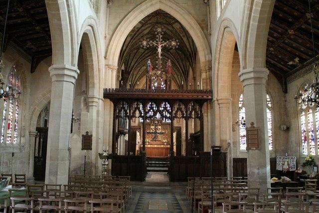 Interior St Helen S Church Brant 169 J Hannan Briggs Cc