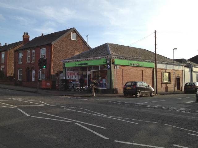 Co-operative store, Buxton Road, Macclesfield