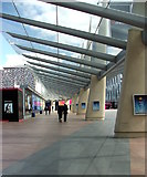 TQ3979 : Covered Walkway O2 Arena by Christine Westerback
