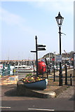 ST0743 : Watchet Harbour by K  A