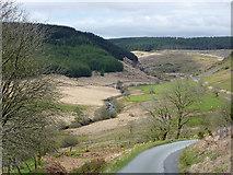 SN8056 : Upper Cwm Tywi, Powys by Roger  Kidd