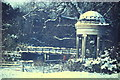 TQ0451 : Winter, Clandon Park by Colin Smith