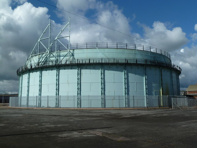 Gas holder, Exeter