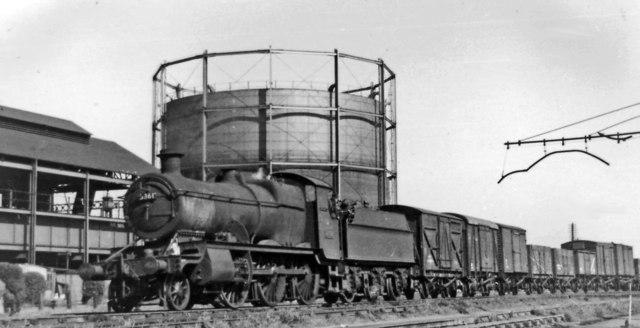 Down freight approaching Banbury General
