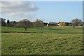 SP1168 : Heath Farm from Forde Hall Lane by Robin Stott