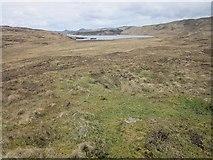 NR7467 : Moorland on Iolarig by Patrick Mackie