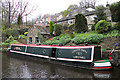SD9905 : Huddersfield Narrow Canal, Uppermill by michael ely