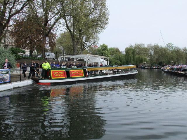 Jason's trip narrowboat