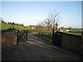 SP1266 : Entrance to Walnut Hill Farm by Robin Stott