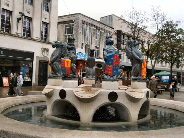 Sculpture in Commercial Road