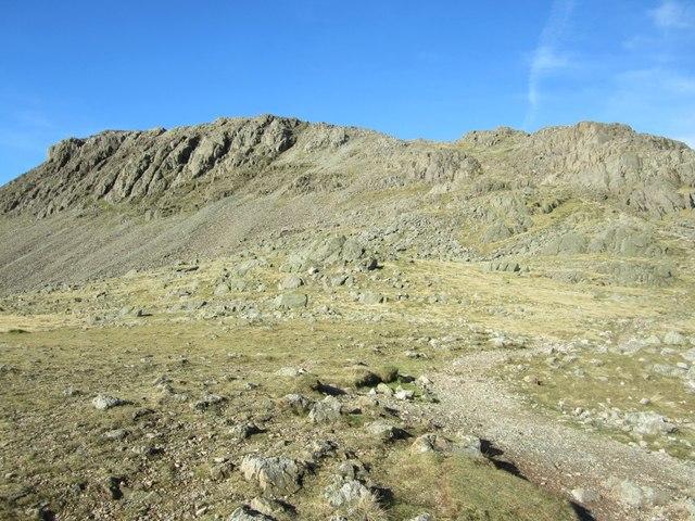 Bowfell from Three Tarns
