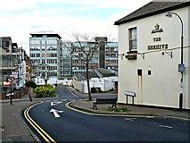SU1584 : Former Swindon College, Regents Circus, Swindon 06.05.12 by Brian Robert Marshall