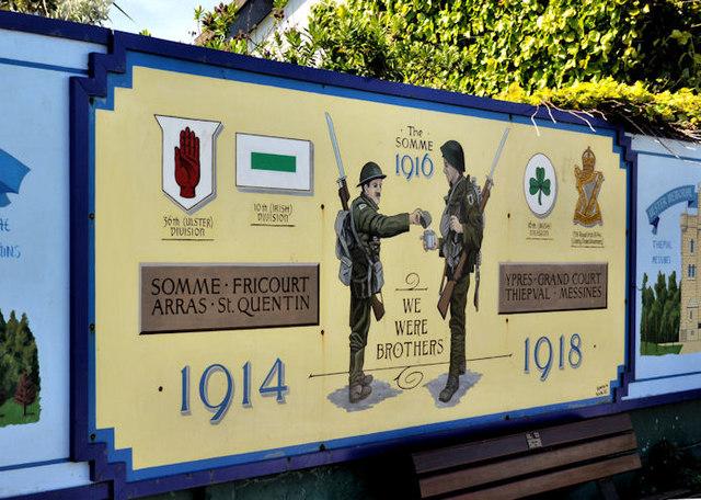 The Somme memorial garden, Cloughey (2)