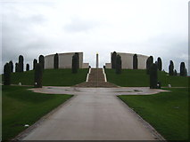 SK1814 : The Armed Services Memorial at the National Memorial Arboretum by Rod Allday