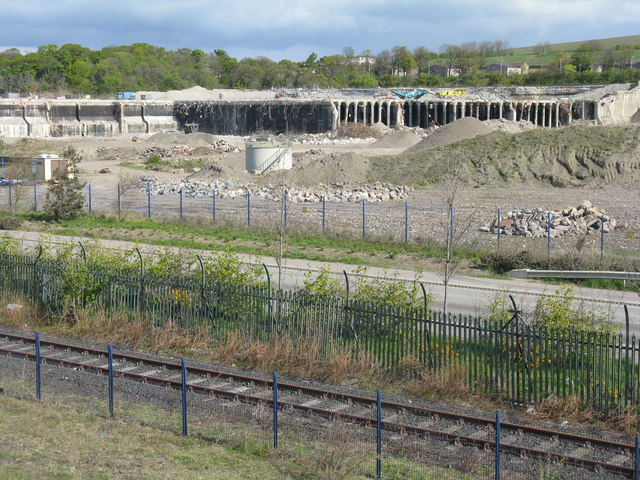 Extensive deconstruction at Rosyth