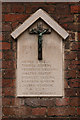TL1407 : World War 1 Street Memorial, Fishpool Street by Ian Capper